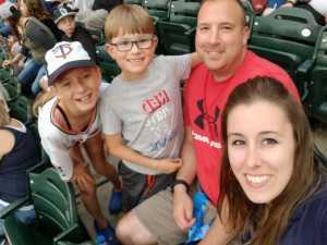 Andrew attended Minnesota Twins vs. Texas Rangers - MLB on Jul 5th 2019 via VetTix