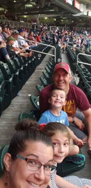 Brian attended Minnesota Twins vs. Texas Rangers - MLB on Jul 5th 2019 via VetTix
