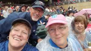 Gail attended Minnesota Twins vs. Texas Rangers - MLB on Jul 5th 2019 via VetTix