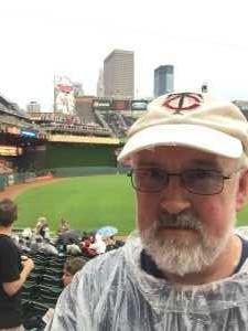 Darrell attended Minnesota Twins vs. Texas Rangers - MLB on Jul 5th 2019 via VetTix