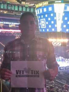 joseph attended World Championship Boxing: Gennadiy 'ggg' Golovkin vs. Steve Rolls - Boxing on Jun 8th 2019 via VetTix