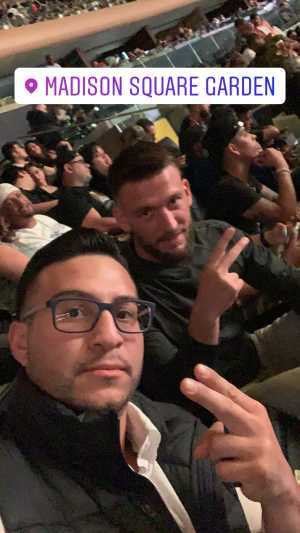 Greg attended World Championship Boxing: Gennadiy 'ggg' Golovkin vs. Steve Rolls - Boxing on Jun 8th 2019 via VetTix