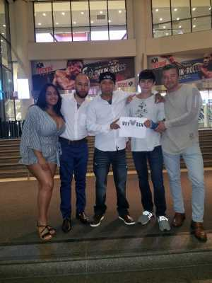 Gonzo Z! attended World Championship Boxing: Gennadiy 'ggg' Golovkin vs. Steve Rolls - Boxing on Jun 8th 2019 via VetTix
