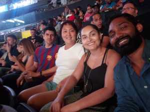 Aaron attended World Championship Boxing: Gennadiy 'ggg' Golovkin vs. Steve Rolls - Boxing on Jun 8th 2019 via VetTix