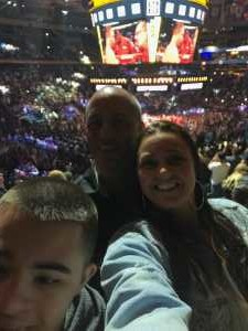 Rodney attended World Championship Boxing: Gennadiy 'ggg' Golovkin vs. Steve Rolls - Boxing on Jun 8th 2019 via VetTix