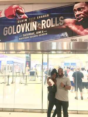 Branden attended World Championship Boxing: Gennadiy 'ggg' Golovkin vs. Steve Rolls - Boxing on Jun 8th 2019 via VetTix