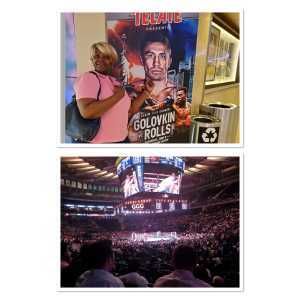 Katty attended World Championship Boxing: Gennadiy 'ggg' Golovkin vs. Steve Rolls - Boxing on Jun 8th 2019 via VetTix