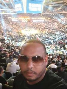 Badui attended World Championship Boxing: Gennadiy 'ggg' Golovkin vs. Steve Rolls - Boxing on Jun 8th 2019 via VetTix