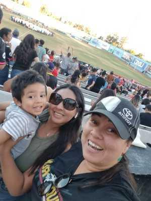 Florence attended Las Vegas Lights FC vs. LA Galaxy II - USL on Jul 4th 2019 via VetTix