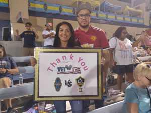 ivonne attended Las Vegas Lights FC vs. LA Galaxy II - USL on Jul 4th 2019 via VetTix