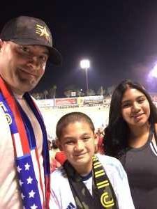 Nicholas attended Las Vegas Lights FC vs. LA Galaxy II - USL on Jul 4th 2019 via VetTix