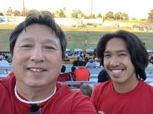 Kym attended Las Vegas Lights FC vs. LA Galaxy II - USL on Jul 4th 2019 via VetTix