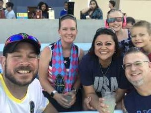 Charles attended Las Vegas Lights FC vs. LA Galaxy II - USL on Jul 4th 2019 via VetTix