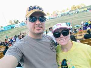 Vet attended Las Vegas Lights FC vs. LA Galaxy II - USL on Jul 4th 2019 via VetTix