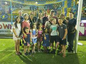 John attended Las Vegas Lights FC vs. LA Galaxy II - USL on Jul 4th 2019 via VetTix