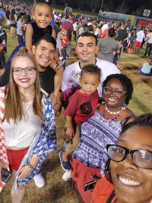 Nicola attended Las Vegas Lights FC vs. LA Galaxy II - USL on Jul 4th 2019 via VetTix