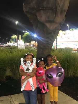 Brittany attended Kentucky State Fair - Tickets Good for Any One Day * See Notes on Aug 25th 2019 via VetTix