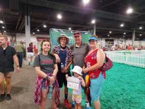Andrew attended Kentucky State Fair - Tickets Good for Any One Day * See Notes on Aug 25th 2019 via VetTix