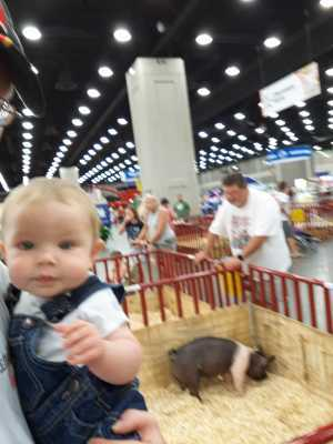 David attended Kentucky State Fair - Tickets Good for Any One Day * See Notes on Aug 25th 2019 via VetTix