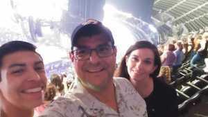 Frank (Francisco) attended New Kids on the Block - Mix Tape Tour on Jun 7th 2019 via VetTix