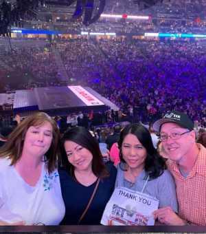 Shawn attended New Kids on the Block - Mix Tape Tour on Jun 7th 2019 via VetTix