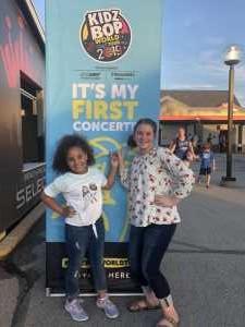 Angela attended Kidz Bop World Tour 2019 on Jun 15th 2019 via VetTix