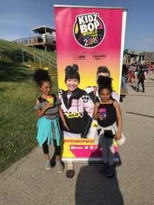 Monica attended Kidz Bop World Tour 2019 on Jun 15th 2019 via VetTix