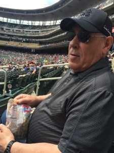 Dean attended Minnesota Twins vs Texas Rangers - MLB on Jul 7th 2019 via VetTix