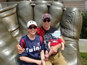 Bryce attended Minnesota Twins vs Texas Rangers - MLB on Jul 7th 2019 via VetTix