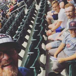 Michael attended Minnesota Twins vs Texas Rangers - MLB on Jul 7th 2019 via VetTix