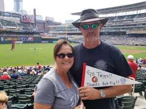 Charley attended Minnesota Twins vs Texas Rangers - MLB on Jul 7th 2019 via VetTix