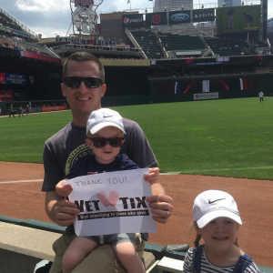 Travis attended Minnesota Twins vs Texas Rangers - MLB on Jul 7th 2019 via VetTix