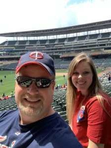 Christopher attended Minnesota Twins vs Texas Rangers - MLB on Jul 7th 2019 via VetTix