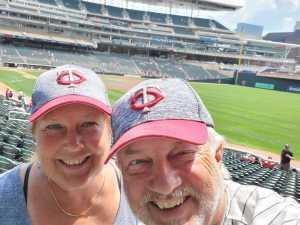 Pete attended Minnesota Twins vs Texas Rangers - MLB on Jul 7th 2019 via VetTix