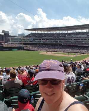 Amy attended Minnesota Twins vs Texas Rangers - MLB on Jul 7th 2019 via VetTix