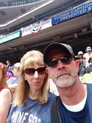 James attended Minnesota Twins vs Texas Rangers - MLB on Jul 7th 2019 via VetTix
