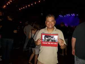 Arnel attended The Marquee Theatre Presents - the Offspring 13+ on Jun 10th 2019 via VetTix