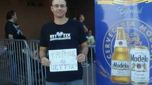 matt attended The Marquee Theatre Presents - the Offspring 13+ on Jun 10th 2019 via VetTix
