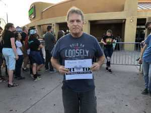 Lawrence attended The Marquee Theatre Presents - the Offspring 13+ on Jun 10th 2019 via VetTix