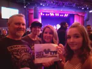 Ward attended The Marquee Theatre Presents - the Offspring 13+ on Jun 10th 2019 via VetTix