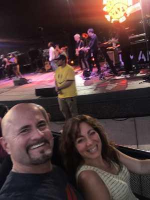 James attended Michael Franti & Spearhead Ziggy Marley on Jun 14th 2019 via VetTix