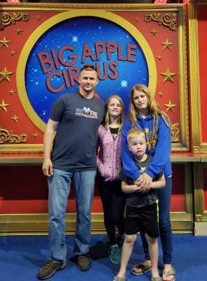 Michael attended Big Apple Circus - Philadelphia - Circus on Jun 14th 2019 via VetTix
