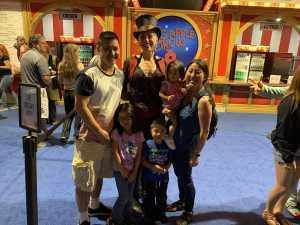 Edward attended Big Apple Circus - Philadelphia - Circus on Jun 14th 2019 via VetTix