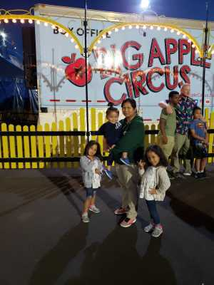 PG Gomez attended Big Apple Circus - Philadelphia - Circus on Jun 14th 2019 via VetTix