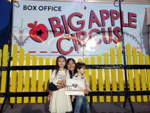 gwen attended Big Apple Circus - Philadelphia - Circus on Jun 14th 2019 via VetTix