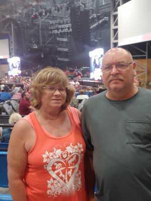 Donald attended Brad Paisley Tour 2019 - Country on Jun 28th 2019 via VetTix