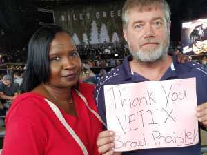 ronald attended Brad Paisley Tour 2019 - Country on Jun 28th 2019 via VetTix