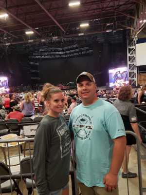 Brandon attended Brad Paisley Tour 2019 - Country on Jun 28th 2019 via VetTix