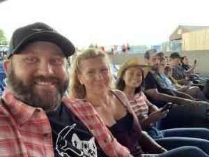 Richard attended Brad Paisley Tour 2019 - Country on Jun 28th 2019 via VetTix