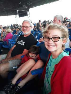 Lawrence attended Brad Paisley Tour 2019 - Country on Jun 28th 2019 via VetTix